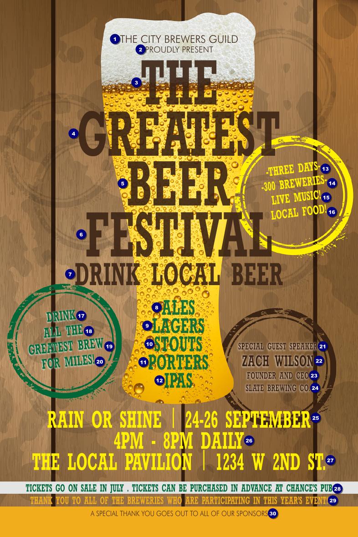 Beer Festival Flyer