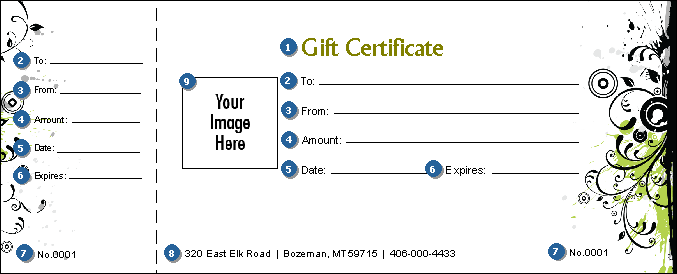 GIFT CERTIFICATE TEMPLATE CONCERT TICKETS – Make Your Own Concert Ticket