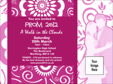 prom invitations template