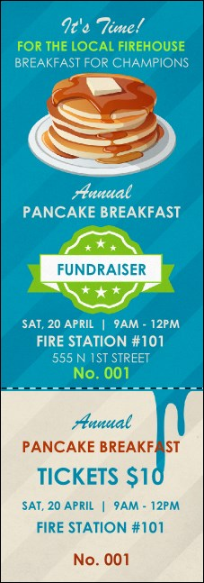 Pancake Breakfast Event Ticket