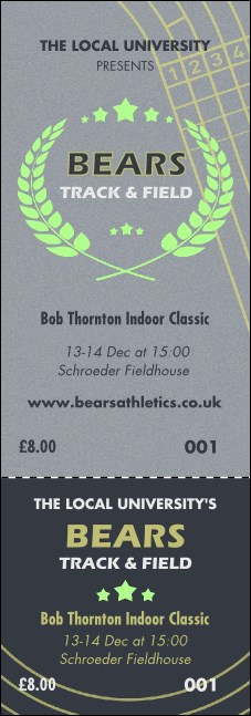 Track and Field Event Ticket