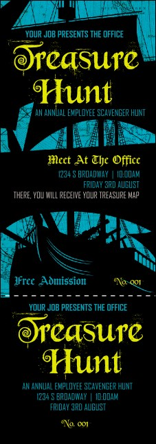 Pirate Ship Event Ticket