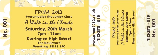 Yellow Prom General Admission Ticket