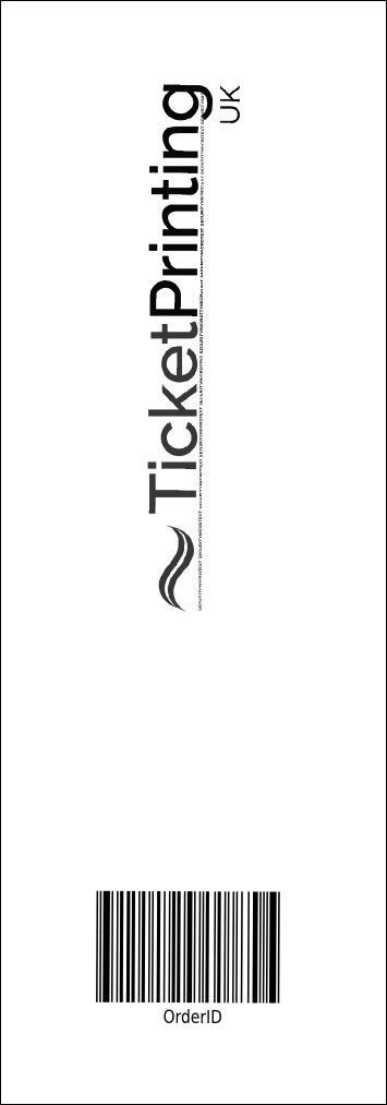 All Purpose Angle Event Ticket Product Back