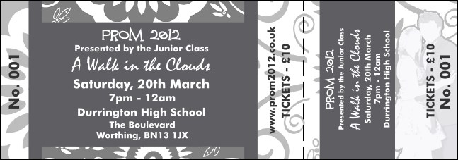 Grey Prom General Admission Ticket