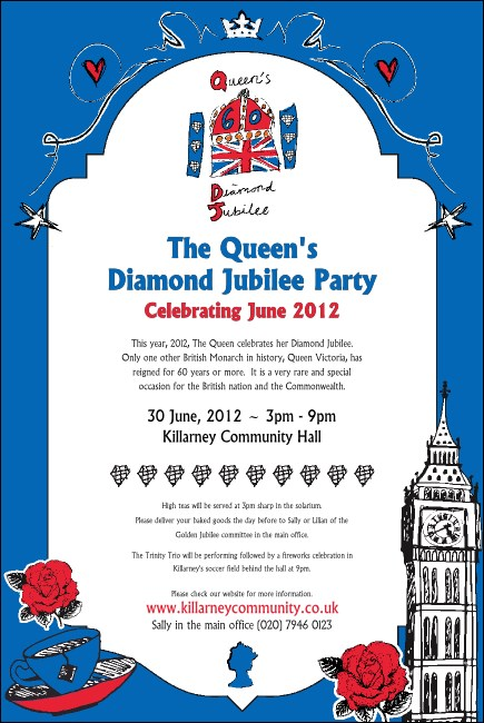 Diamond jubilee certificate template choice image certificate design diamond jubilee certificate template free choice image certificate design and template yadclub Image collections