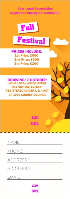 raffle ticket paper Raffle ticket creator allows you to create raffle ticket templates online and download the tickets to print at home print cheap raffle tickets for your fund raising event save money on professional raffle ticket printing by using raffle ticket creator.