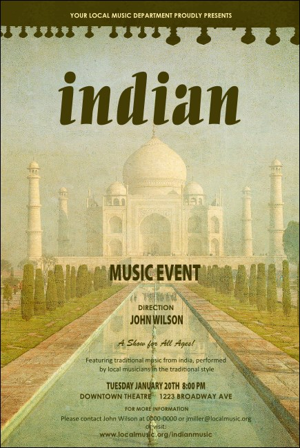Indian Music Poster