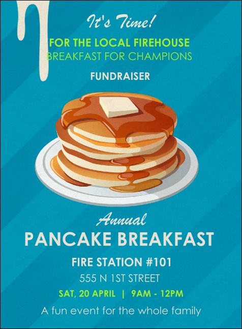 Pancake Breakfast Invitation