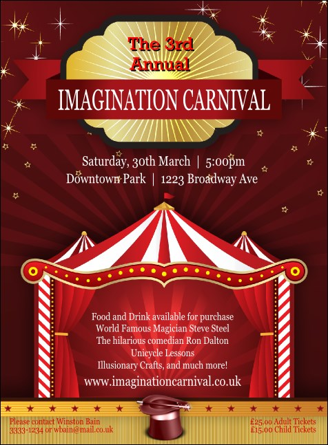 Red Tent Invitation