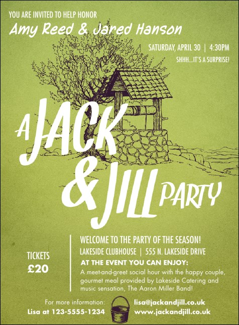 Jack and Jill 2 Invitation Product Front