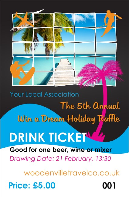 Win a Vacation Drink Ticket