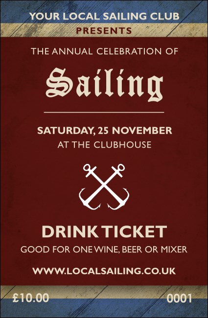 Sailing Drink Ticket