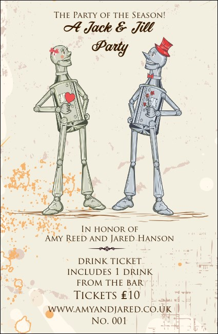 Jack and Jill Drink Ticket