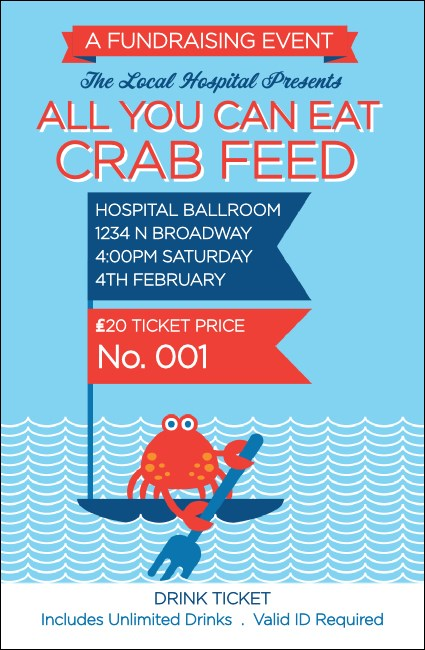 Crab Feed Drink Ticket