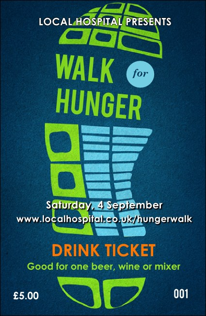 Walk Drink Ticket Product Front