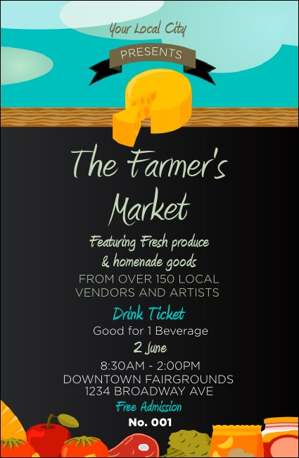 Farmer's Market Drink Ticket