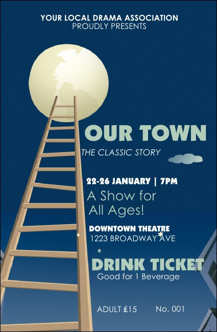 Our Town Drink Ticket