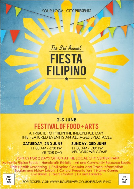 Filipino Fiesta Postcard