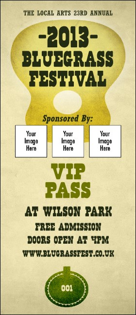 Guitar and Banjo VIP Pass