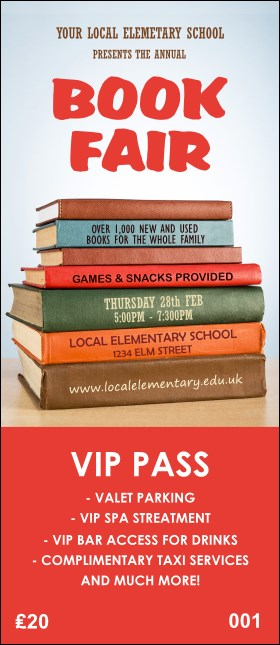Book Fair VIP Pass