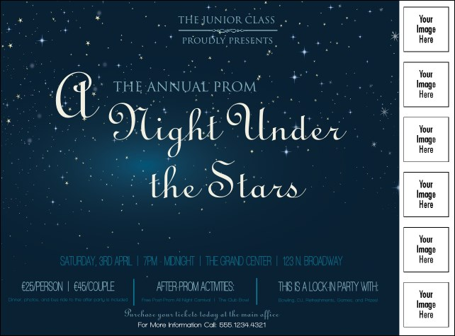 Star Theme Logo Flyer