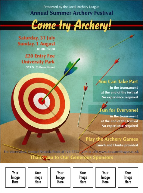 Archery Logo Flyer