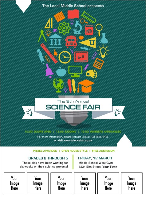 Science Fair Logo Flyer