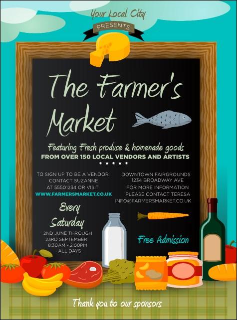 Farmer's Market Flyer