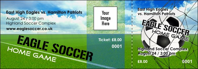 Football Schedule Event Ticket