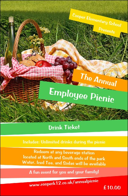 Picnic 2 Drink Ticket