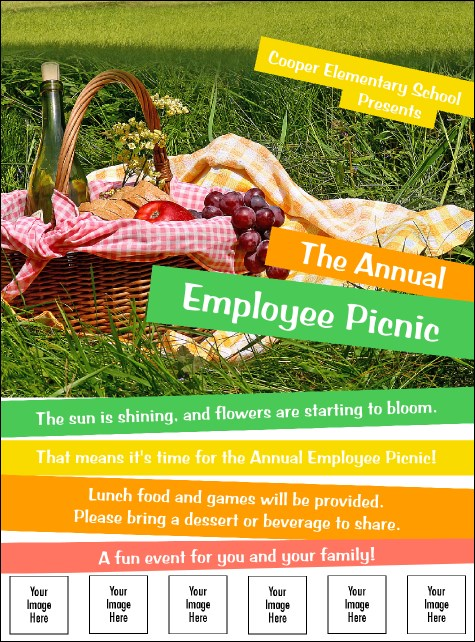 Picnic 2 Image Flyer