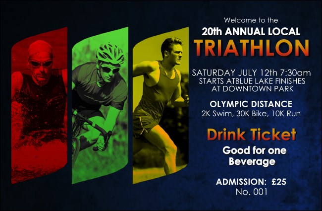 Triathlon Drink Ticket