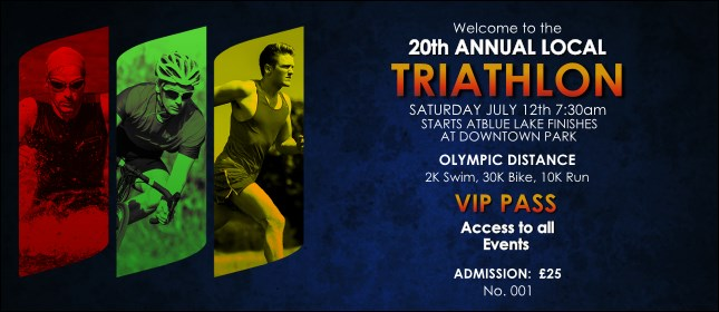 Triathlon VIP Pass