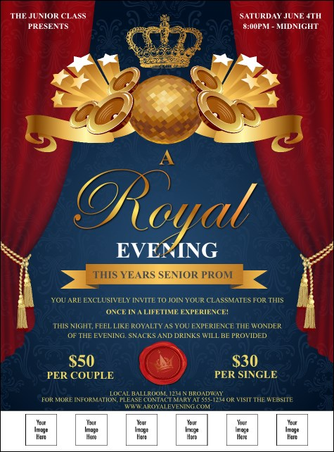 Royal Logo Flyer