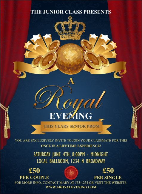Royal Invitation Product Front
