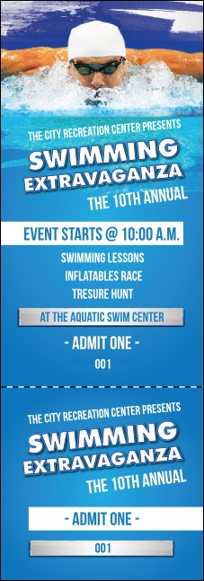 Swimming Event Ticket