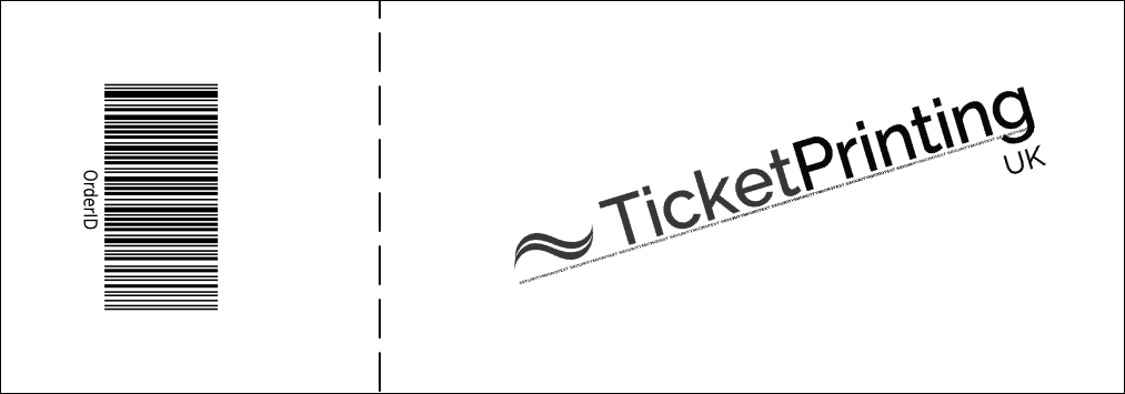Black and White Hip Hop Event Ticket Product Back